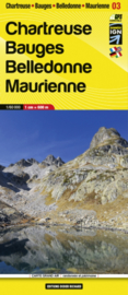 Wandelkaart Chartreuse - Bauges - Belledonne – Maurienne | Libris 15 | 1:60.000 | ISBN 9782723495394