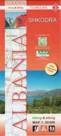 Wandelkaart Shkodra | Huber Verlag 03 | 1:50.000 | ISBN 9783943752090