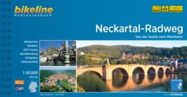 Fietsgids Neckartal Radweg - 371 km | Bikeline | Fietsen tussen Villingen-Stuttgart-Heilbronn en Mannheim | ISBN 9783850008785