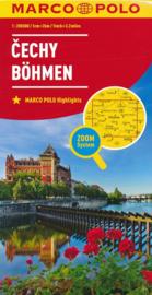 Wegenkaart - Fietskaart Böhmen - Tsjechië | Marco Polo | 1:200.000 | ISBN 9783829739979