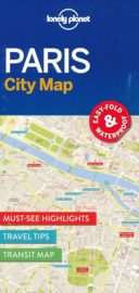 Wegenkaart Parijs - Paris | Lonely Planet | ISBN 9781786574152