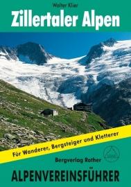 Wandelgids-Trekkinggids Zillertaler Alpen Alpin AVF | Rother Verlag | ISBN 9783763312696