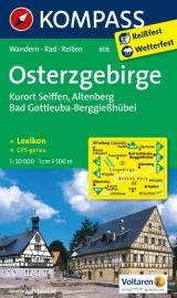 Wandelkaarten Erzgebirge Ost | Kompass 808 | 1:50.000 | ISBN 9783850265072
