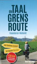 Fietsgids De Taalgrensroute : Fietsen van Comines tot Voeren | Ward van Loock | ISBN 9789464000580