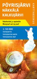 Wandelkaart Pöyrisjarvi Näkkälä Kalkujärvi | Karttakeskus No. 2 | 1:50.000 | ISBN 9789522664853
