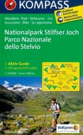 Wandelkaart Nationalpark Stilfser Joch / Parco Nationale dello Stelvio | Kompass 072 | ISBN 9783850267298