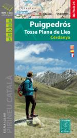 Wandelkaart Puigpedros - Tossa plana de Lles - Cerdanya | Editorial Alpina | Oostelijke Pyreneeën | 1:25.000 | ISBN 9788480907361