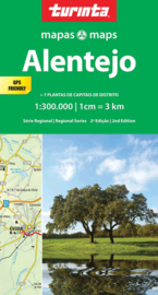 Autokaart-Fietskaart  Alentejo | Turinta nr. 3 | 1:300.000 | ISBN 9789895560943