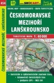 Wandelkaart Tsjechië - Českomoravské Mezihoří, Lanškrounsko | Shocart 454 | ISBN 9788072247325