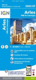 Wandelkaart Arles - PNR de Camargue | IGN 2943ET - IGN 2943 ET | ISBN 9782758543473