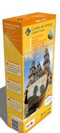 Wandelkaart - fietskaart Camino Frances, wandelen naar Santiago de Compostela | 1:50.000 | CNIG | ISBN 9788441615489