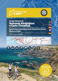 Wandelkaart  Alentejo Zuidwest en Costa Vicentina | Adventure Maps Portugal | 1:50.000 | ISBN 9789895405220