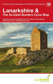 Fietskaart Lanarkshire & The Scottish Borders | Cycle map 38 - Sustrans | 1:110.000 | ISBN 9781910845097