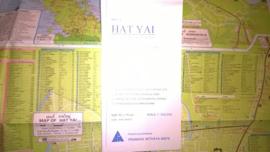 Wegenkaart Hat Yai  & Song Khla Province | Prannok Witthaya Maps | 1:300.000