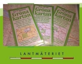 Afgeprijsde Lantmäteriet Topo kaarten 1:50.000 / Gröna kartan