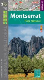 Wandelkaart Montserrat   Editorial Alpina   Gebied ten westen van Barcelona   1:10.000   ISBN 9788480908405