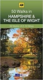 Wandelgids Hampshire and the Isle of Wight - 50 walks | AA | ISBN 9780749575694