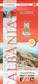 Wandelkaart Vlora  | Huber Verlag 08 | 1:50.000 | ISBN 9783943752144