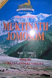 Wandelkaart Muktinath Jomosom | Nepa Maps | 1:80.000 | 9799993323129