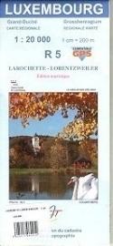 Wandelkaart Larochette / Lorentzweiler | Topografische dienst Luxembourg 05 | ISBN 5425013060912