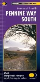 Wandelkaart The Pennine Way South | Harvey | 1:40.000  | ISBN 9781851375158