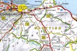 Wegenkaart Groot Brittanië & Ierland 2019 | Michelin 713   ISBN 9782067236400
