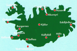 Wegenkaart IJsland - Island | 1:400.000 | Freytag & Berndt | ISBN 9783707904512