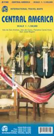Wegenkaart Centraal Amerika - Central America | ITMB | 1:1.100.000 | ISBN 9781553410645