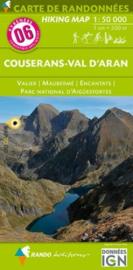 Wandelkaart Couserans/ Val d Aran (Frankrijk - Pyreneeen) | Rando Edition 06 | ISBN 9782344021415