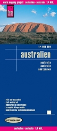 Wegenkaart Australie  | Reise Know How  | 1:4.000.000 | ISBN 9783831773367