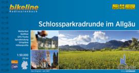 Fietsgids Schlossparkradrunde im Allgäu : 219 km | Bikeline | ISBN 9783850007214