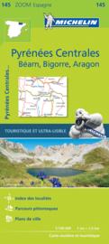 Fietskaart - wegenkaart  Spaanse Pyreneeën Centraal - Pirineos Centrales | Michelin 145 | 1;150.000 | ISBN 9782067218116