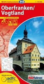 Fietskaart Oberfranken -Vogtland | ADFC nr. 18 | ISBN 9783870736705