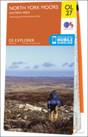 Wandelkaart North York Moors Eastern Area | OL27 Explorer Maps | Ordnance Survey | 1:25.000 | ISBN  9780319242667