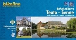 Fietsgids BahnRadRoute Teuto-Senne - 165 km. | Bikeline | ISBN 9783850003025