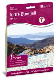 Wandelkaart  Indre Etnefjell 2669 | Nordeca | 1:50.000 | ISBN 7046660026694