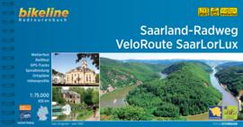 Fietsgids Saarland Radweg - Veloroute SaarLorLux - 835 km. | Bikeline | ISBN 9783850007498