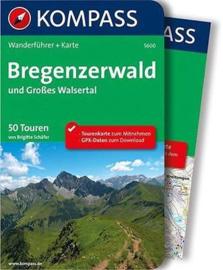 Wandelgids Bregenzer Wald | Kompass 5600 | ISBN 9783990440438