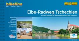 Fietsgids Elbe Radweg Tschechien | Bikeline | Van de bron van de Elbe in het Reuzengebergte naar Bad Schandau | ISBN 9783850008648
