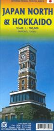Wegenkaart Hokkaido - North Japan | 1:800.000 | ITMB | ISBN 9781771293846