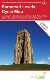 Fietskaart Cycle City Guide nr. 04 | Somerset Levels Cycle Map | 1:110.000 | ISBN 9781900623261
