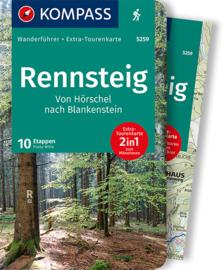 Wandelgids Rennsteig | Kompass | ISBN 9783991211549