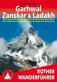 Wandel- & Trekkinggids Garhwal - Zanskar & Ladakh |  Rother Verlag | ISBN 9783763343829