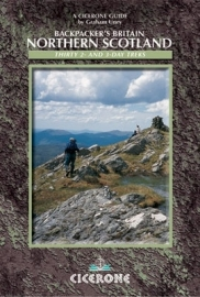 Wandelgids-Trekkinggids Backpackers Britain Northern Scotland | Cicerone |  ISBN 9781852844585