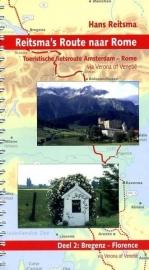 Fietsgids Reitsma`s Route naar Rome Deel 2: Garmisch-Partenkirchen - Ferrara | Pirola | ISBN 9789064558474