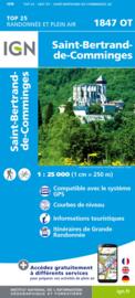 Wandelkaart Saint Bertrand de Comminges, Arreau | Pyreneeën | IGN 1847OT - IGN 1847 OT