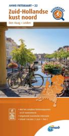 Fietskaart  Zuid Hollandse kust Noord | ANWB 22 |  1:66.666 | ISBN 9789018047238