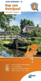 Fietskaart Kop van Overijssel | ANWB 13 | 1:66.666 | ISBN 9789018047146