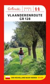 Wandelgids Vlaanderenroute GR 128-  van Heuvelland tot Voeren, 468 km | Grote Routepaden | ISBN 9789492608086