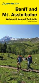 Wandel - Wegenkaart  Banff & Mount Assiniboine No. 5 | GEM Trek | 1:100.000 | ISBN 9781895526981